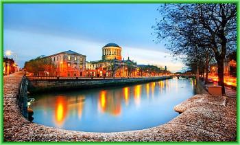 Дублин очень красивый город с массой привлекательных мест