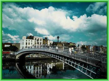 Центром Ирландии является город Дублин
