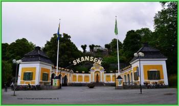 Стокгольм - старинный музей-парк под открытым небом Скансен