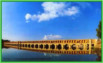 Мост в Иране -скоро для въезда в Иран туристам не придётся оформлять визу заранее