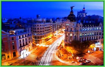 Тяжело пульсирующая артерия Мадрида