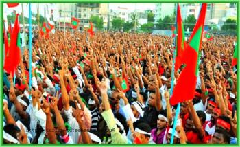 Мальдивы, Мале - протестующие против результатов выборов
