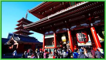В Асакусе храм находится с момента основания города