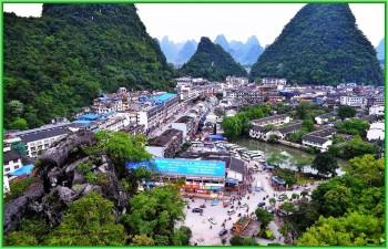 Город Яншо в южной части Китая
