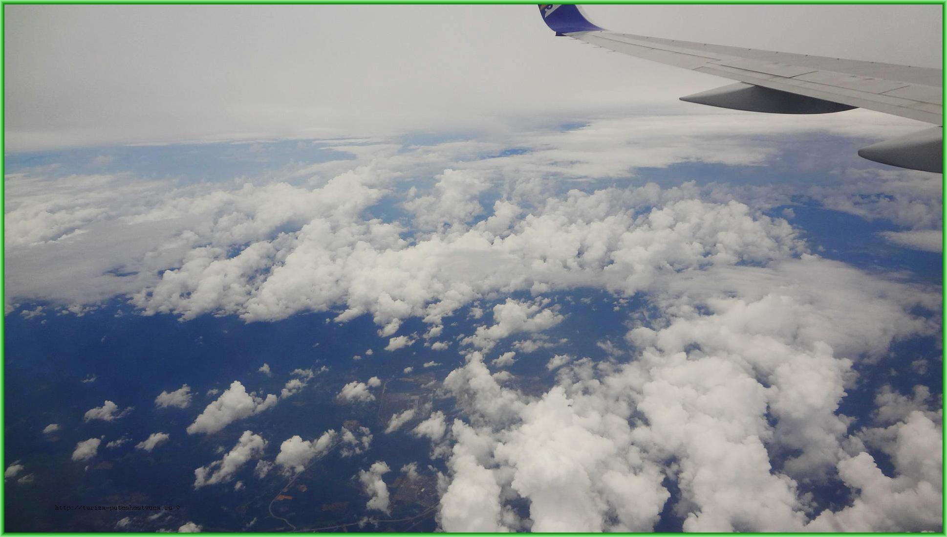 Вид из самолёта - все дешёвые авиакомпании мира - vse-deshyovye-aviakompanii-mira