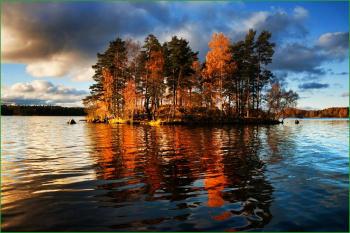 Где отдохнуть в августе в России - ладожское озеро - gde-otdoxnut-v-avguste-v-rossii-ladozhskoe-ozero