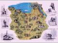 Экскурсии - пригороды Санкт-Петербурга карта фото