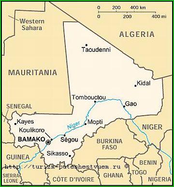 Мали карта фото