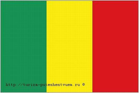 Мали флаг фото