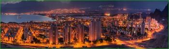 октябрьская поездка в Израильский Эйлат вечернее фото