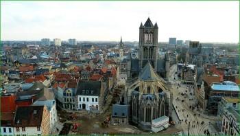 По бельгии с детьми в октябре - поездка в Гент фото