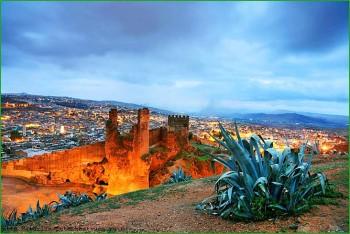 Октябрьская поездка по Марокко в Фес с детьми фото