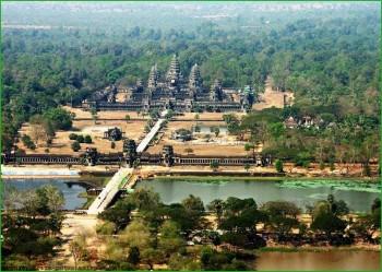 храмы Ангкор-Ват в Камбодже февраль фото