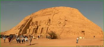 Храм Абу-Симбел в Египте фото