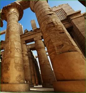 В Карнакский храм в феврале Египет фото