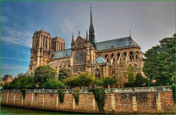 Собор Парижской Богоматери в Париже фото