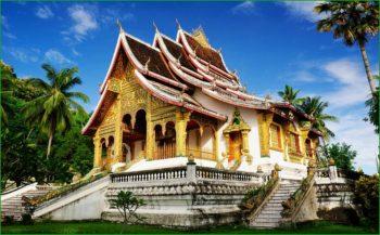 Лаос - Королевский дворец музей фото