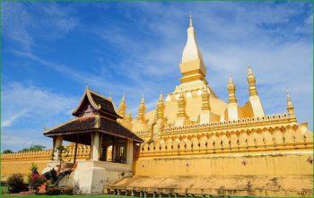 Путешествие в Вьентьян в декабре - Великая Ступа фото