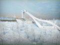 СК Ворробьёвы горы Москва горнолыжный курорт фото
