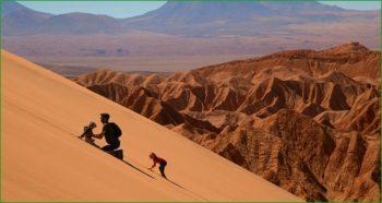 Отдых в Долине Луны с детьми в Чили март фото
