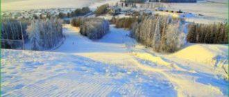 Чекерил - горнолыжный курорт - Удмуртия