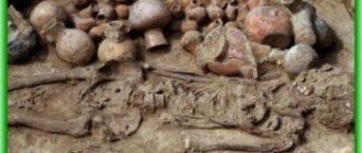 Обнаружена древняя гробница с останками человеческих жертвоприношений