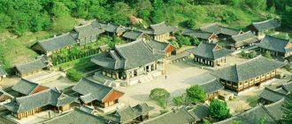 Чончжу - древний город в Южной Корее