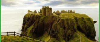 Замок Данноттар - Шотландия