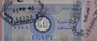 Египетская виза подорожает в 2,5 раза