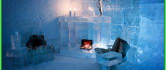 Ледяной отель (The Ice Hotel) в Швеции -роскошь среди льда