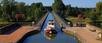 Круиз по каналу Бургундии в ноябре
