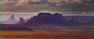 По плато Колорадо в мае