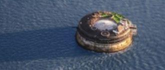Необычный отель в море