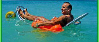 Плавающие кресла-каталки на пляжах Дубая