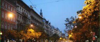 Поездка в Будапешт в октябре