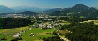 Поездка в Зальцбург - город музыки и соляных шахт в июле
