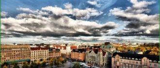 Путешествие от Хельсинки до Рованиеми