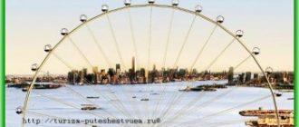 Самое большое колесо обозрения будет построено в Нью-Йорке