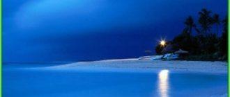 Моря Тихого океана - список