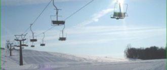 Степаново - горнолыжный курорт - Подмосковье