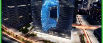 Уникальный отель строится в Арабских Эмиратах