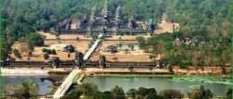 К храмам Ангкор-Ват в феврале