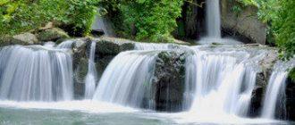 В Риме открыли парк водопадов
