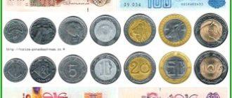 Валюта Алжира