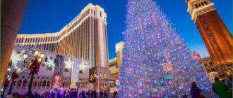 Выходные в Лас-Вегасе на Рождество