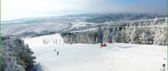 Хвалынь - горнолыжный курорт - Саратовская область