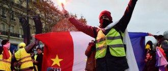 Акции протеста «желтых жилетов» во Франции