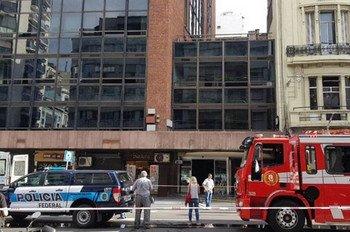 В Буэнос-Айресе произошел пожар в гостинице