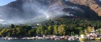 С Турецкого острова эвакуируют людей из-за лесных пожаров